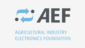 "Logo ""AEF - Agricultural Industry Electronics Foundation"""