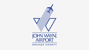 "Logo ""John Wayne Airport Orange County"""
