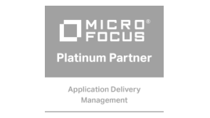 "Logo ""MicroFocus Gold Partner Applications Delivery Management"""